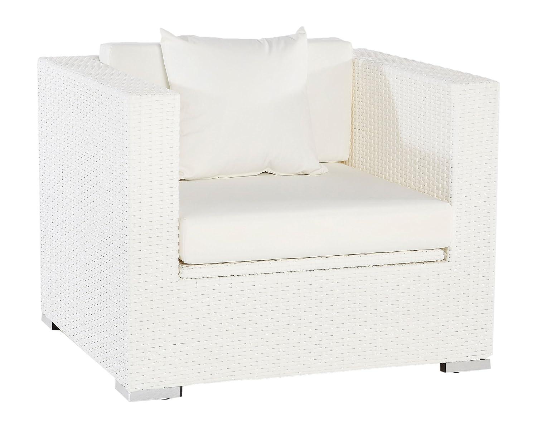 Outflexx Polyrattan Modul Sessel w29 Box, weiß