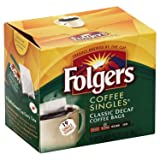 Folgers Classic Medium Roast Decaf Coffee, 19 Count Singles Serve (3 Pack) (Tamaño: 3 Pack)
