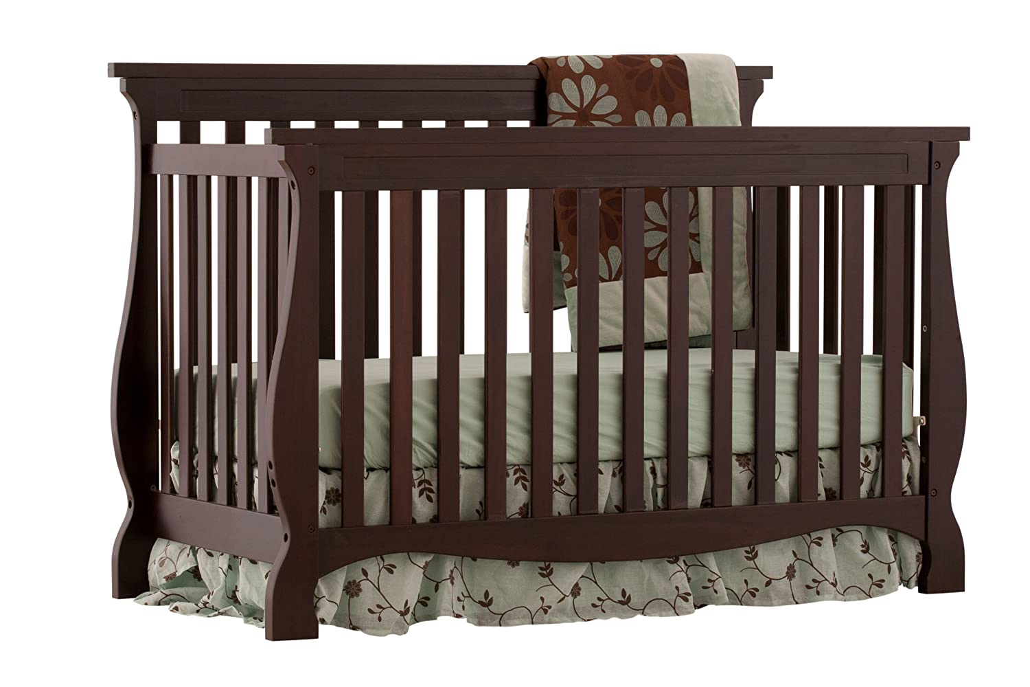 stork craft tuscany 4 in 1 stages crib baby gear and accesso