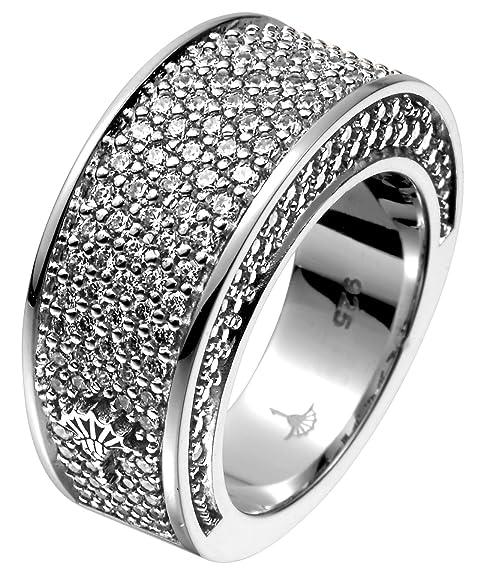 Joop! Ring Women's 925/1.000 Silver, 15.5 g Zirconia