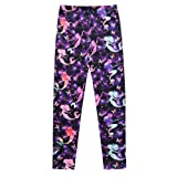 Jxstar Casual Leggings For Girls Back To School Clothing For Fall Winter Comfort Leggings Fit Pants Clothes Leggings Starry Mermaid 140