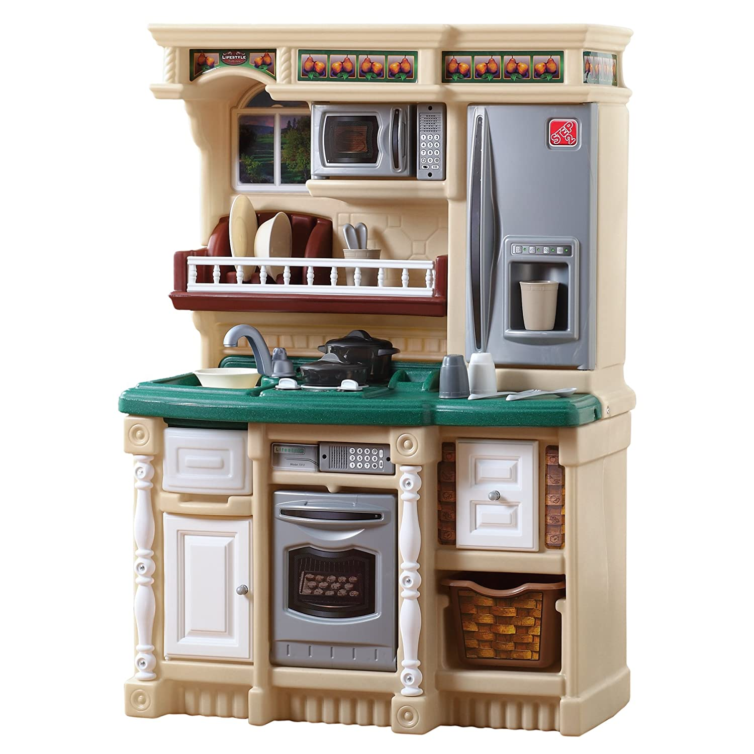 Pretend play kitchen set babygaga Realistic play kitchen