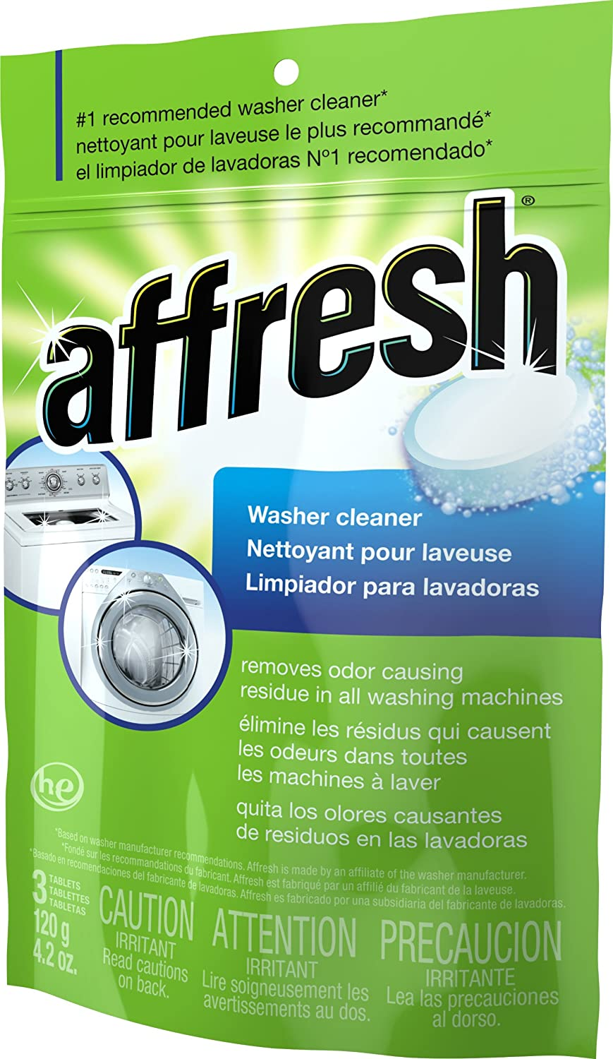 Whirlpool - Affresh High Efficiency Washer Cleaner, 3-Tablets at Sears.com