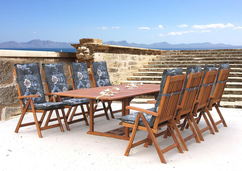 Garten Möbelgruppe Cuba 17tlg Premium Enjoy mit ausziehbaren Tisch jetzt kaufen