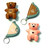 Mommy I'm Here CL-103PK/BR2pak Teddy Bear Remote Child Locator, 2-Pack, One Pink and One Brown (Color: Brown and Pink)