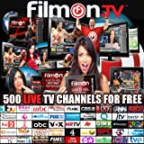 FILMON LIVE TV FREE Watch & Record 500 Channels HD FB
