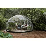 Garden Dome Igloo - 12 Ft Stylish Conservatory, Play Area, Greenhouse or Gazebo. (Color: Clear, Tamaño: 11' 9