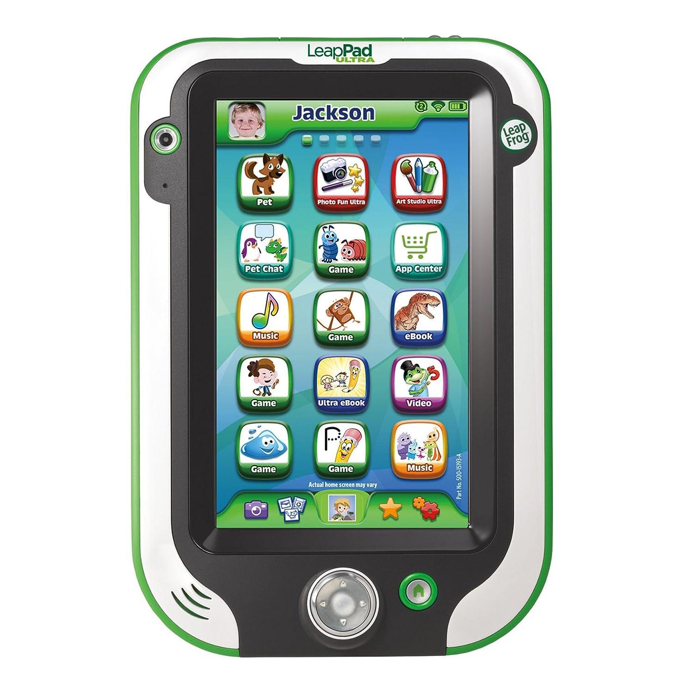 LeapFrog LeapPad Ultra/Ultra XDI Kids' Learning Tablet, Green
