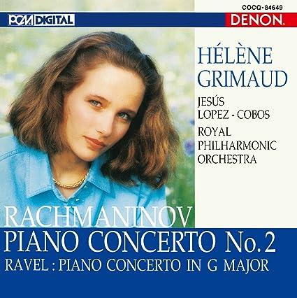 ラフマニノフ:ピアノ協奏曲第2番、ラヴェル:ピアノ協奏曲