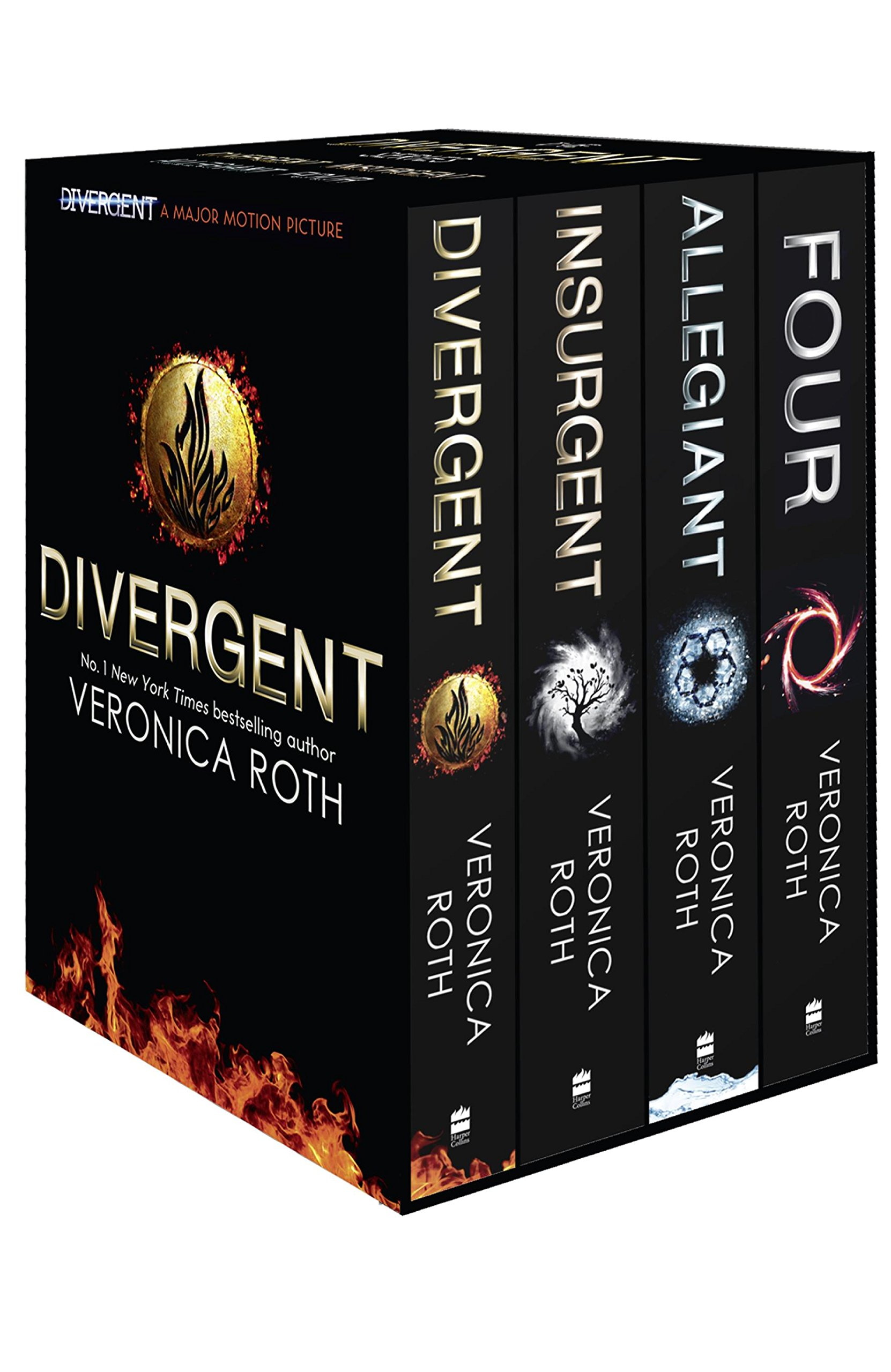 Buy Divergent Series  4 In 1 Book Online At Low Prices In India   Divergent Series  4 In 1 Reviews & Ratings  Amazon
