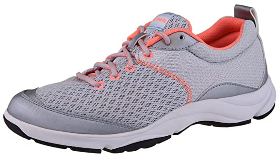 Dr. Andrew Weil Women's Rhythm Lace-Up Walkers 9.5 B(M) US Silver/Coral