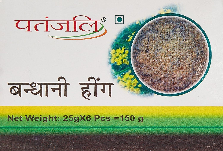 Patanjali Bandhani Hing, 25g (Pack of 6)