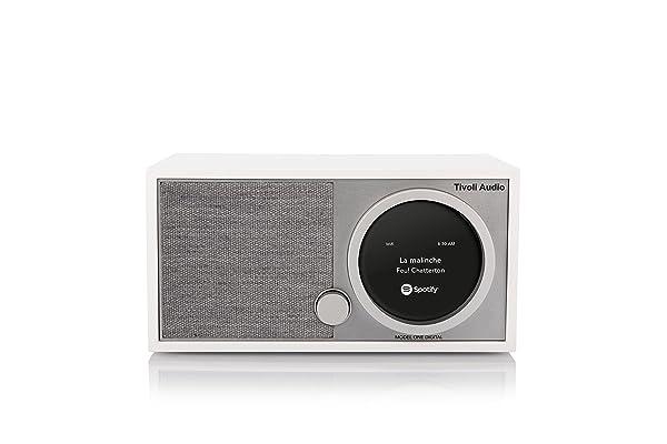 Tivoli Audio M1D-1730-NA Model One Digital in White (Color: White)