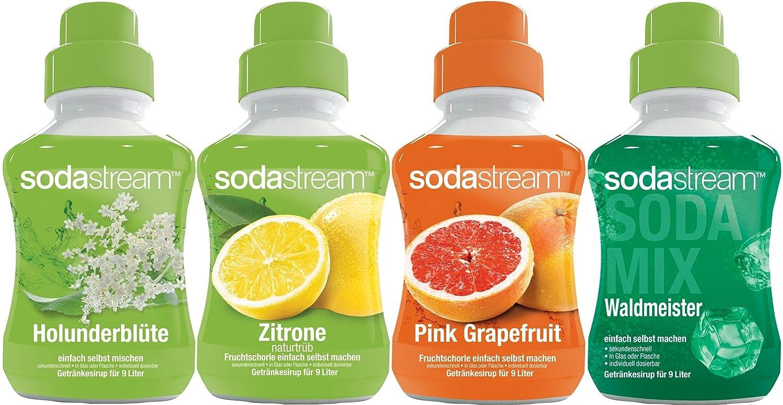 SodaStream 4er Sirup-Mischpackung mit