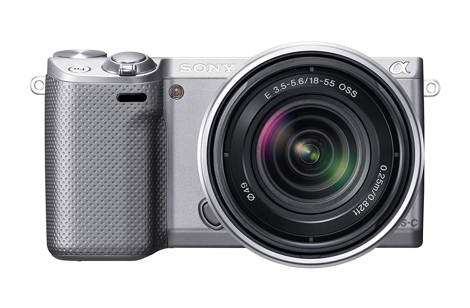 Sony NEX-5RK/B 16.1 MP Compact Interchangeable Lens Digital Camera with 18-55mm Lenses (Black)