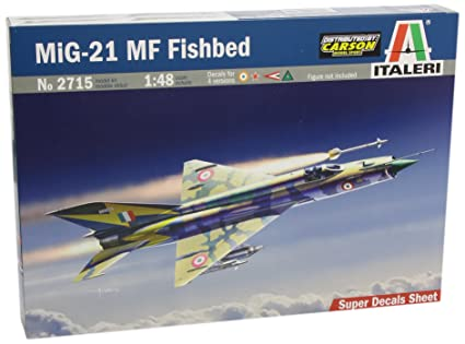 Italeri - I2715 - Maquette - Aviation - Mig-21 Mf Fishbed