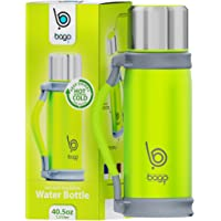 Bago 1.2 Liter Stainless Steel Insulated Water Bottle ( Green)