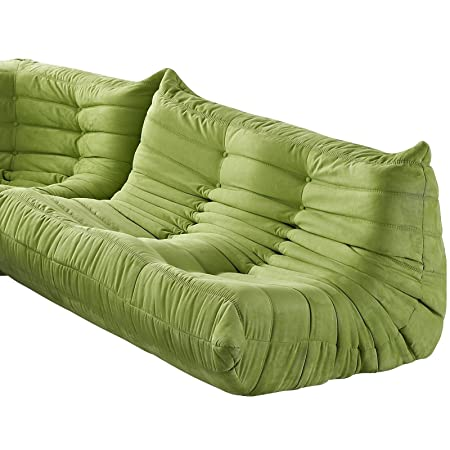 Waverunner Loveseat Green Color