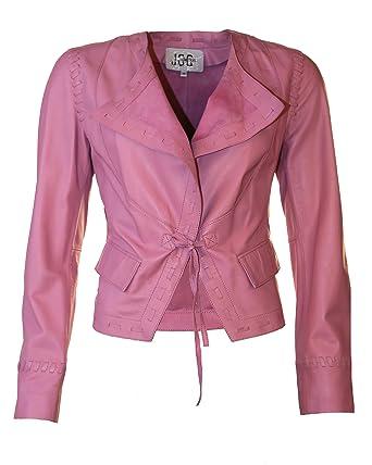 JCC Lederjacke, Damen 096326 (rosa)