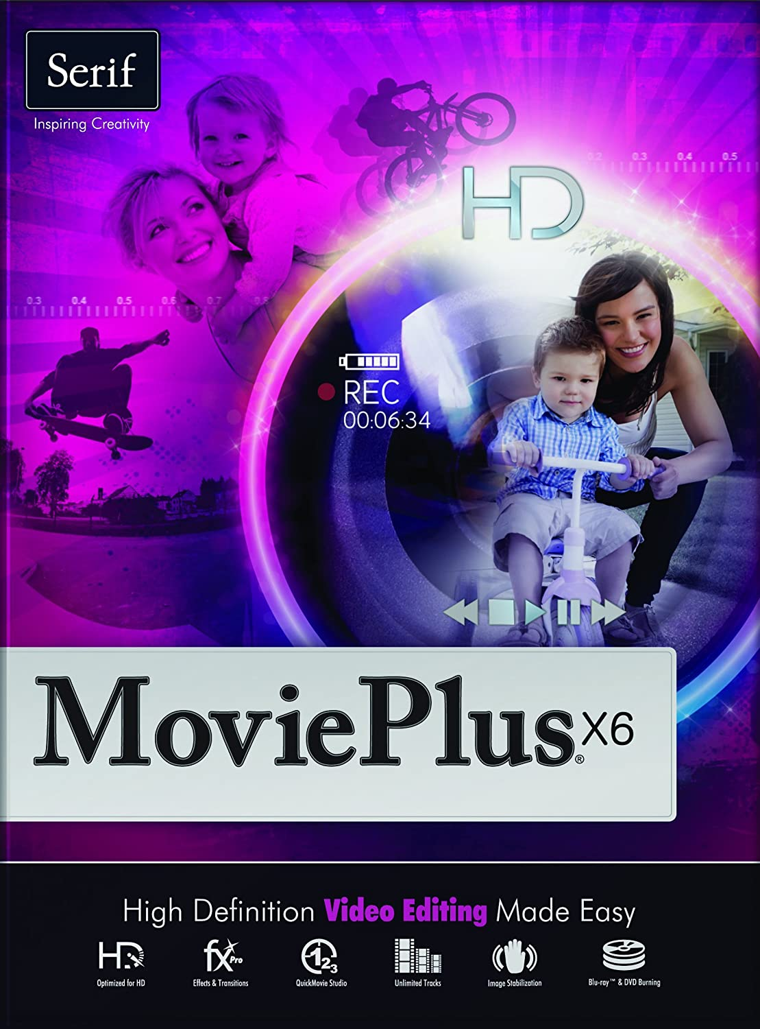 Serif MoviePlus X6 (Download)