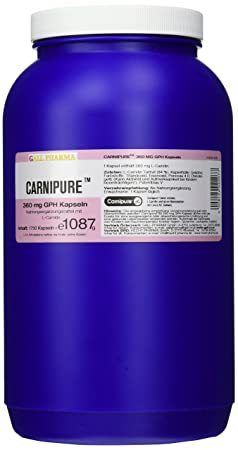 Gall Pharma Carnipure 360 mg GPH Kapseln, 1er Pack (1 x 1750 Stuck)