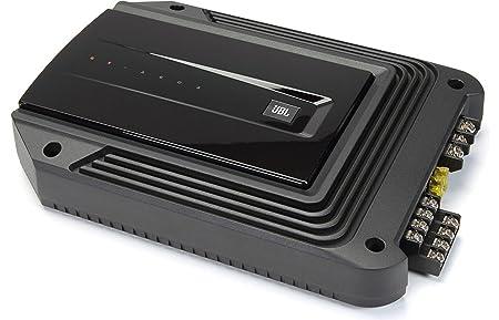 JBL Car GX-A604 Amplificateur Large Gamme Puissant et Compact de 435 W 4x60 W 4-Canaux - Noir