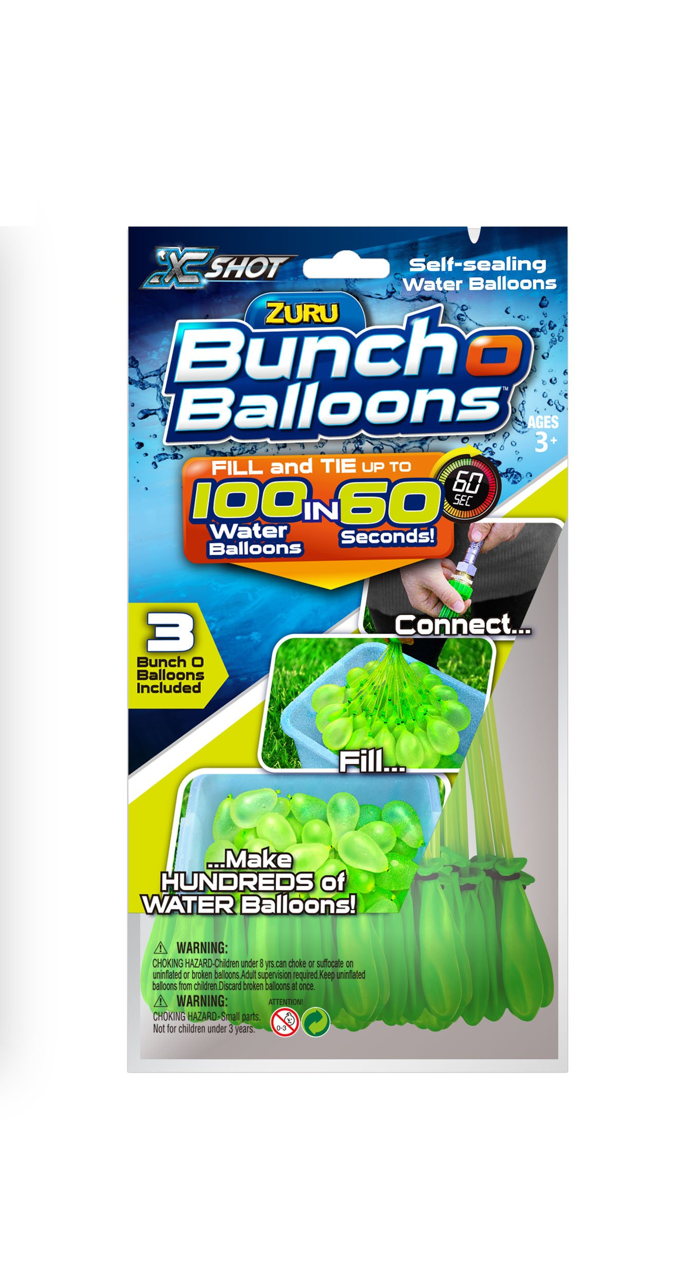 Self Tying And Water Balloons