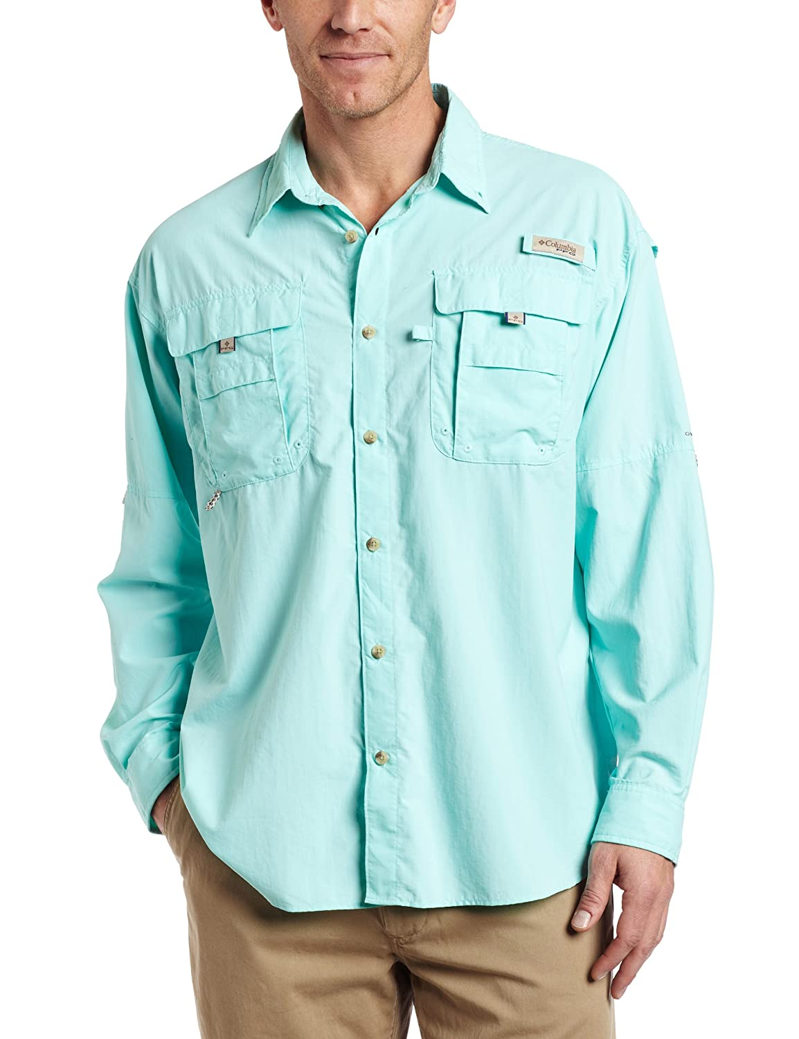 Columbia Men's Bahama II Long Sleeve Shirt columbia field master ii ca007 430