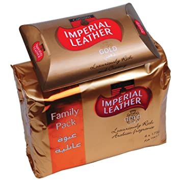 Buy Imperial Leather Soap 175 gms*4 (Gold) Online at Low Prices in ...