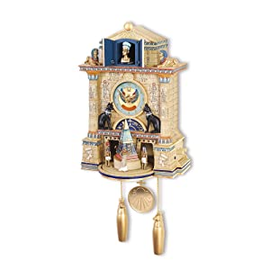 Treasures of Ancient Egypt Cuckoo Clock       Customer reviews
