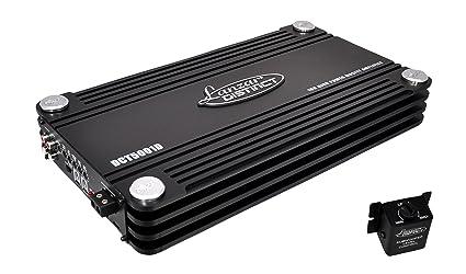 Lanzar DCT5001D Amplificateur monobloc numérique 5000 W Noir