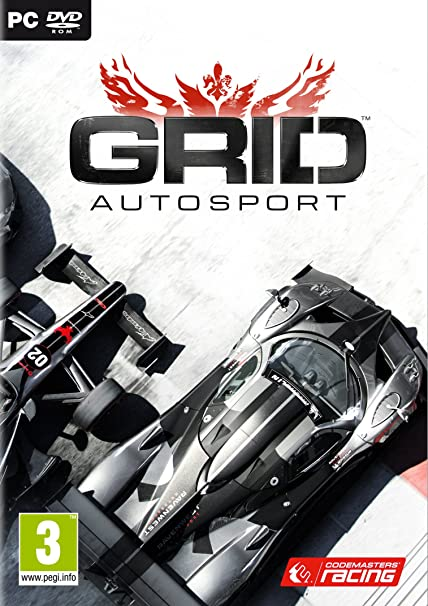 Grid Autosport pc Dvd Game uk