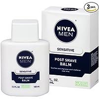3-Pack Nivea Men Sensitive Post 3.3 Fluid Ounce Shave Balm