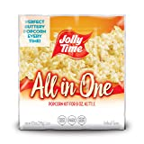 JOLLY TIME All in One Kit for 8 oz. Popcorn Machine | Portion Packet with Kernels, Oil and Salt for Commercial, Movie Theater or Air Popper (Net Wt. 10.5 oz. Each, Pack of 36)