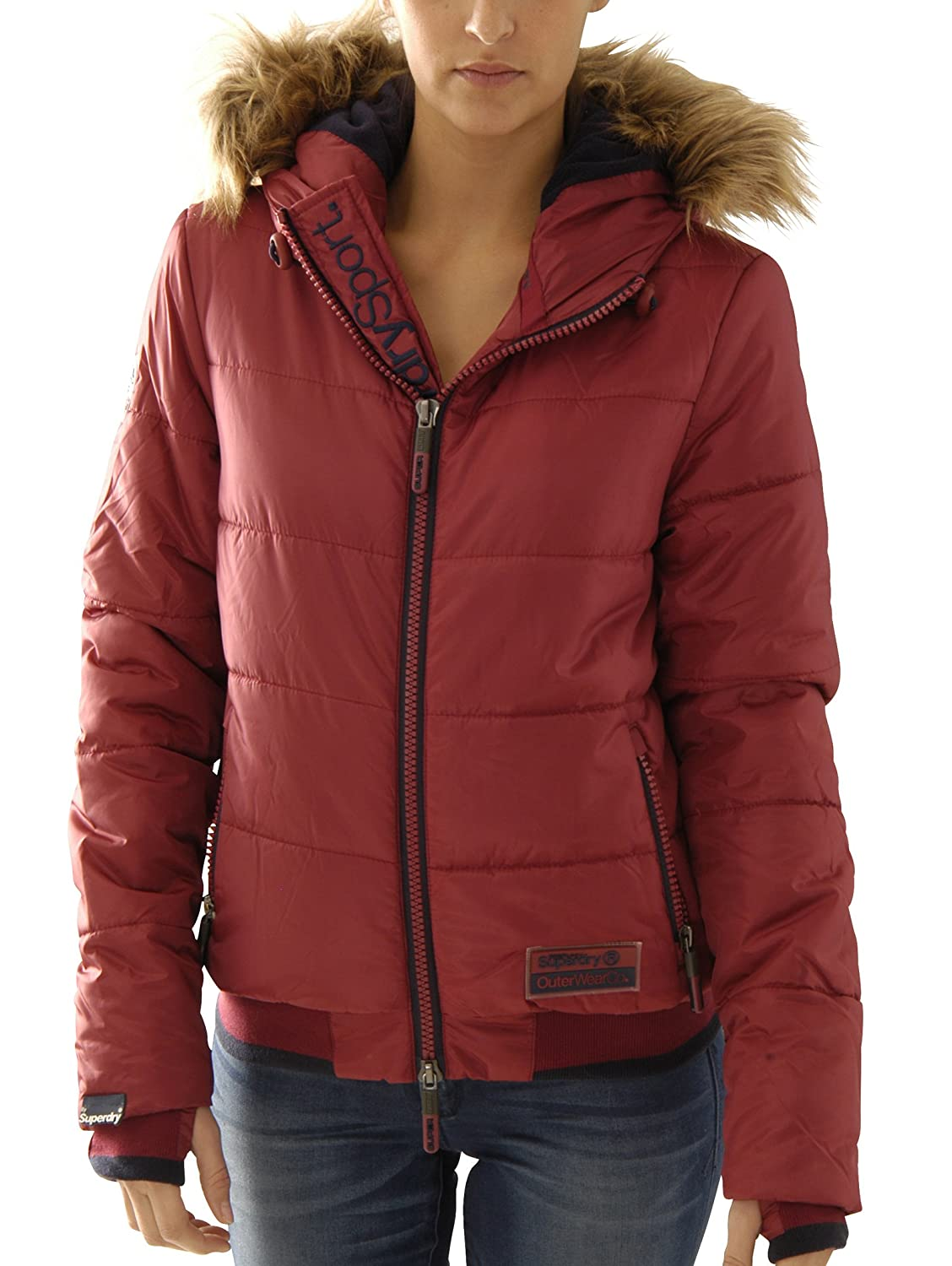 Superdry Damen Jacke Polar Sports Puffer G50ll010f2