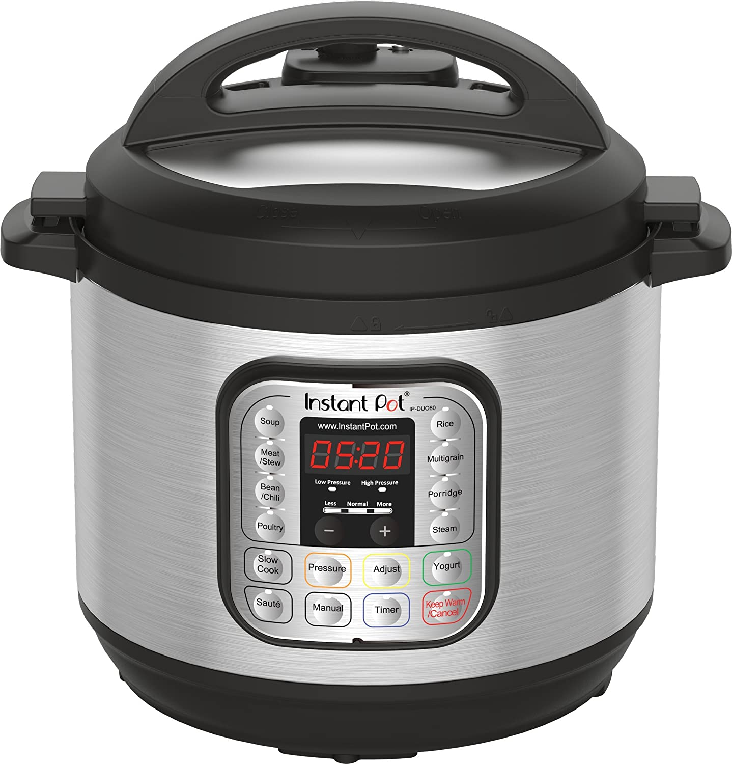 Instant Pot IP-DUO80 7-in-1 Programmable Pressure Cooker, 8Qt/1200W