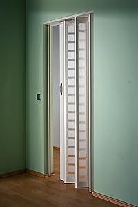 Falttür MARLEY New Generation Fb. Weiss  Fenster Karo weisssatiniert B 86 x H 205 cm  BaumarktRezension