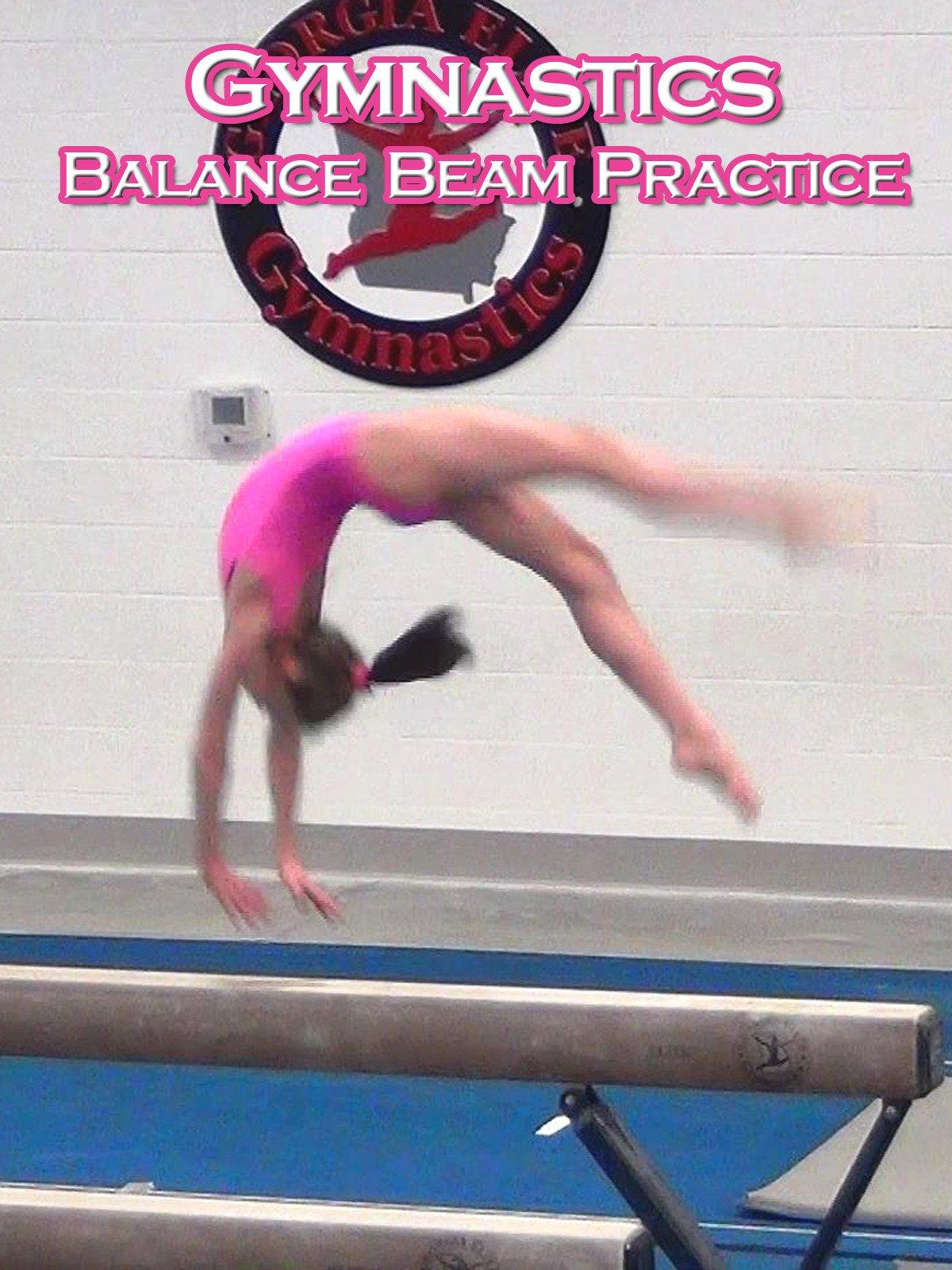 Gymnastics Balance Beam Practice on Amazon Prime Video UK