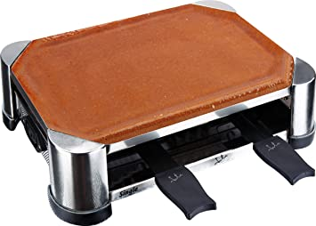 jata gt202 terracotta raclette grill f r 2 personen us83. Black Bedroom Furniture Sets. Home Design Ideas
