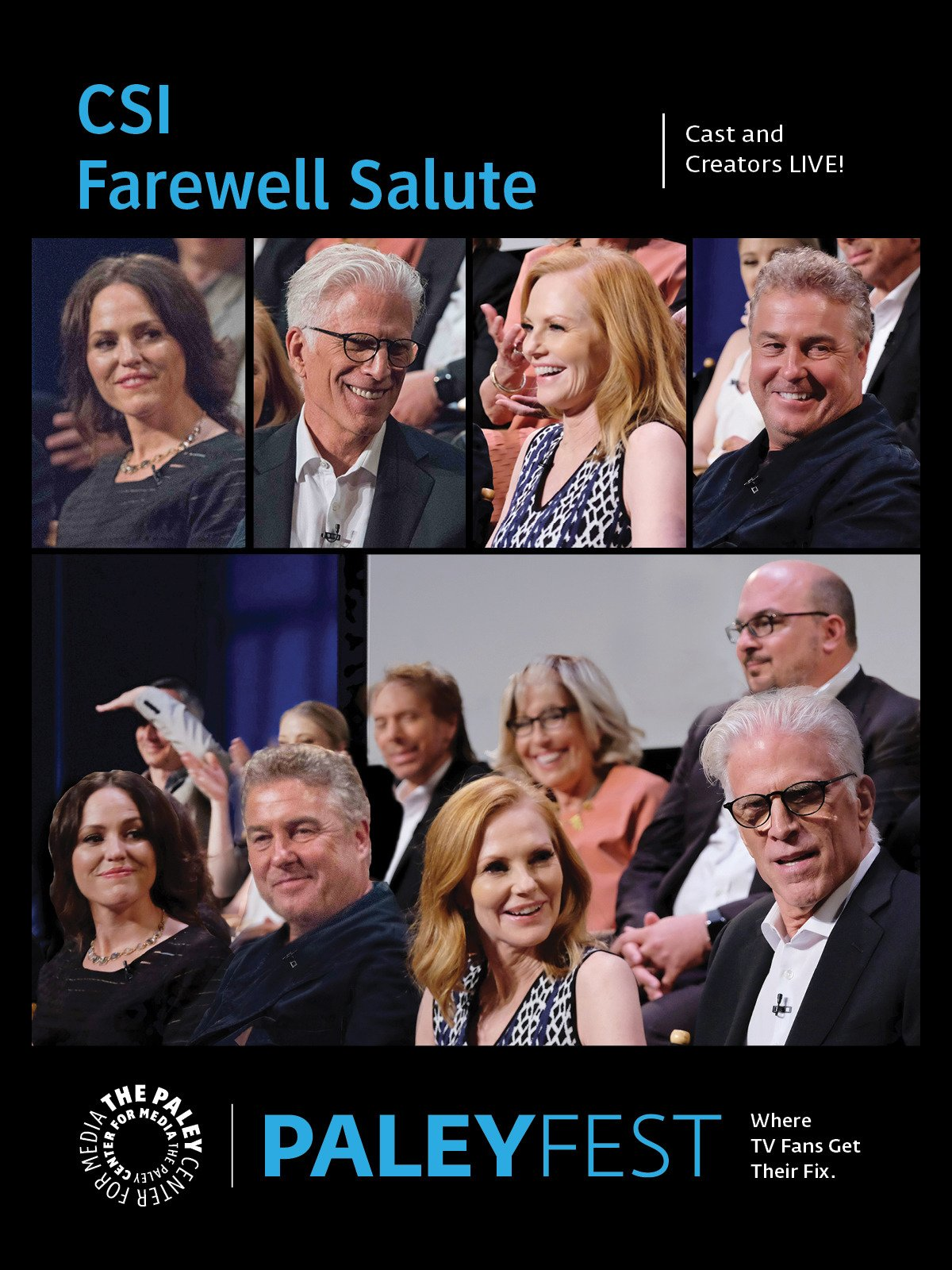 CSI Farewell Salute: Cast and Creators PaleyFest