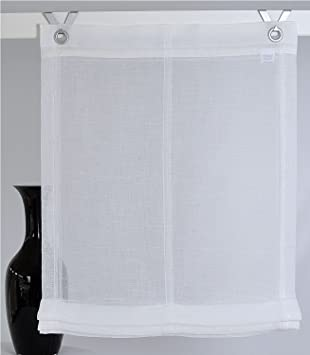 raffrollo senrollo sunny crash 45 60 80 100 130 cm weiss 80 130 cm dc594. Black Bedroom Furniture Sets. Home Design Ideas