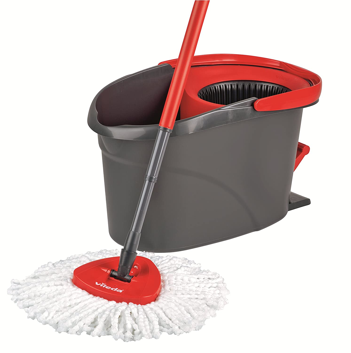 Vileda easy wring and clean microfibre mop and bucket with for Lavapavimenti vileda