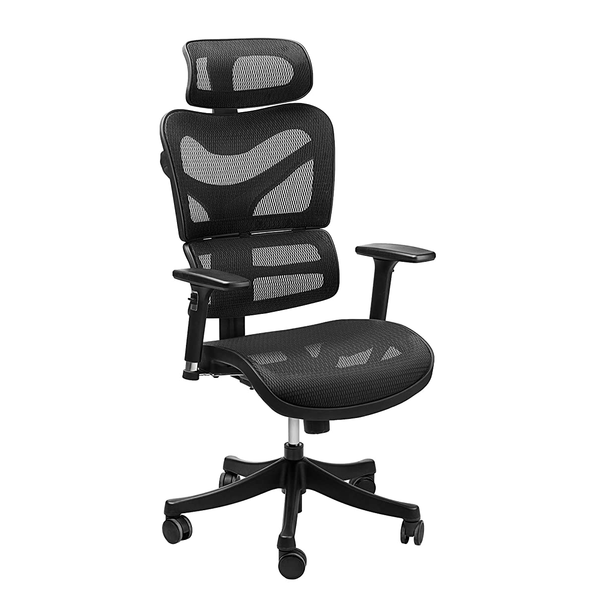 Ergonomic Mesh Office Chair Sieges Adjustable Headrest