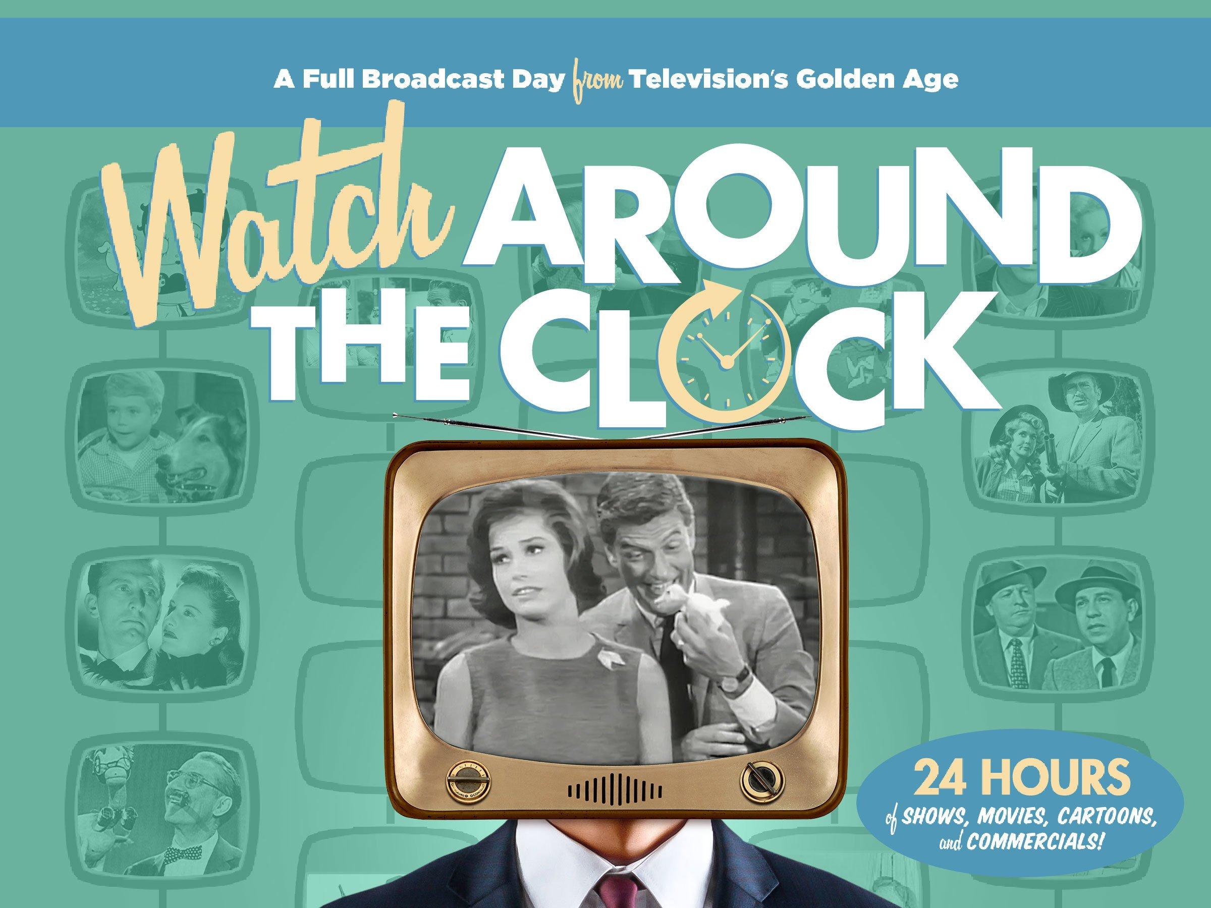 Watch Around the Clock B&W - Season 1