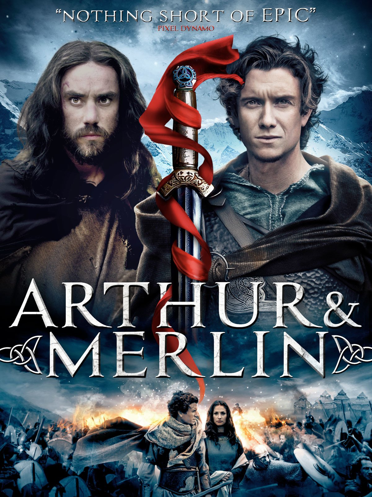 Arthur and Merlin on Amazon Prime Video UK