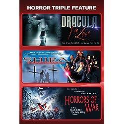 Dracula In Love + Shira: The Vampire Samurai + Horrors Of War [horror Triple Feature]