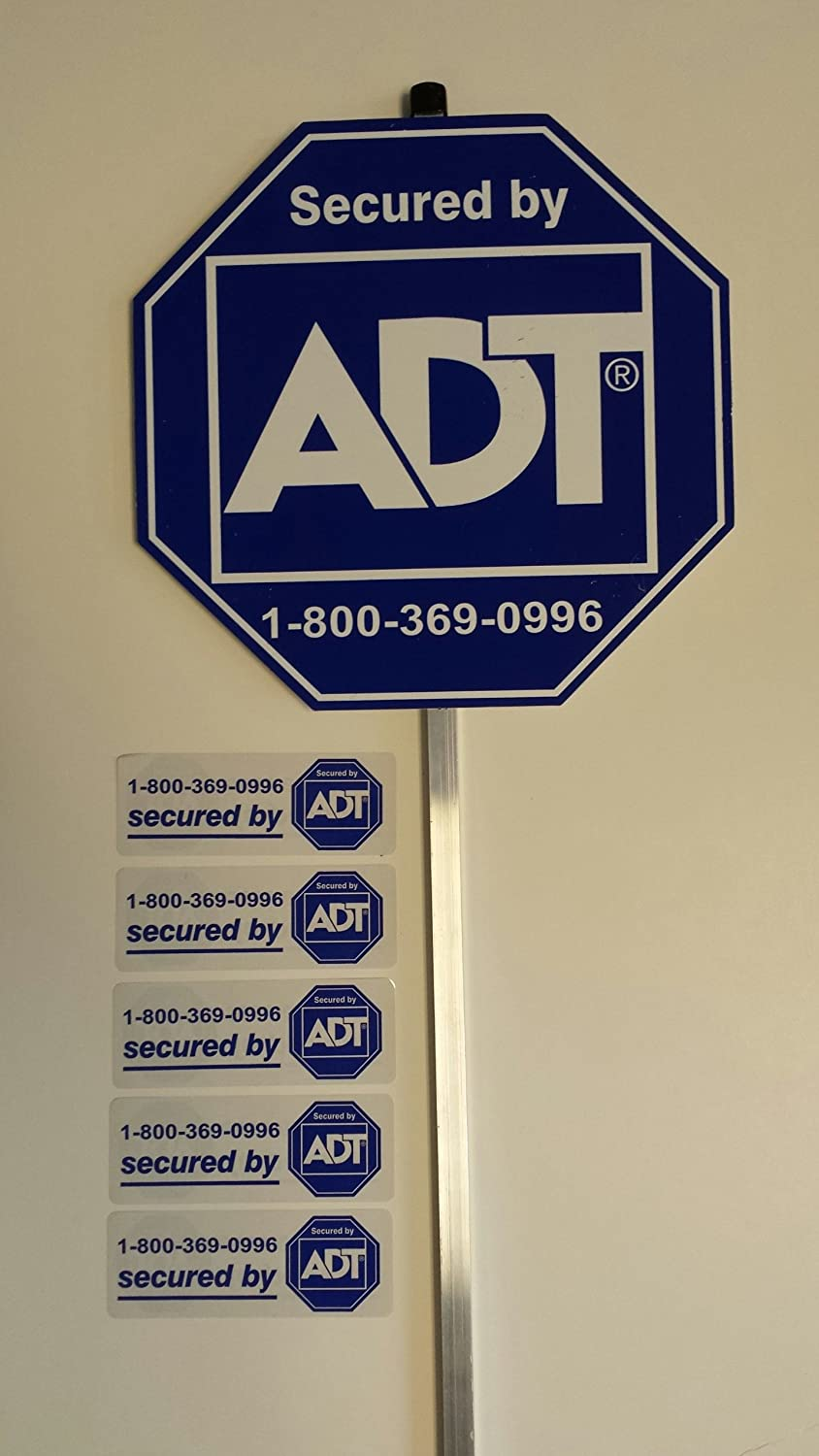 Adt Signs And Stickers