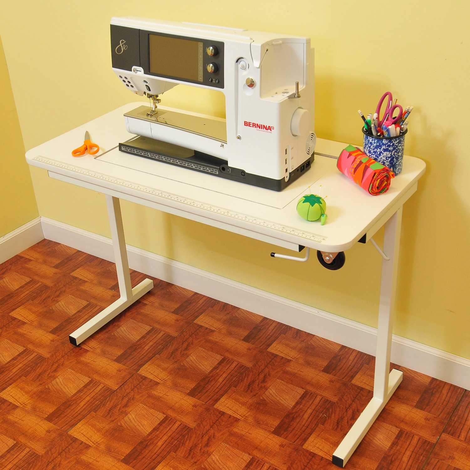 Sewing machine tables and desks sewing machines reviewed - Small sewing machine table ...