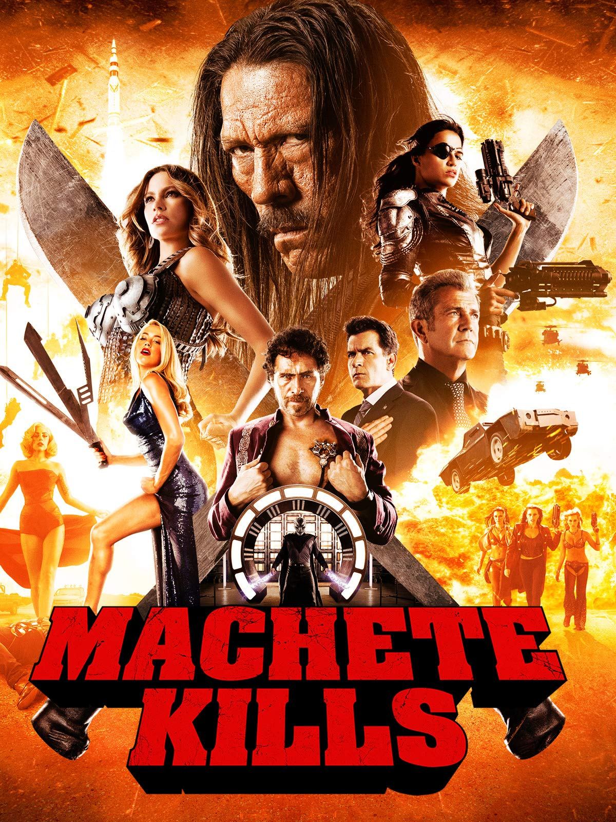Machete Kills on Amazon Prime Video UK