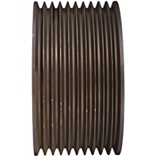 Martin Narrow V-Belt Drive Sheave, 3V Belt Section, 10 Grooves, Class 30 Gray Cast Iron